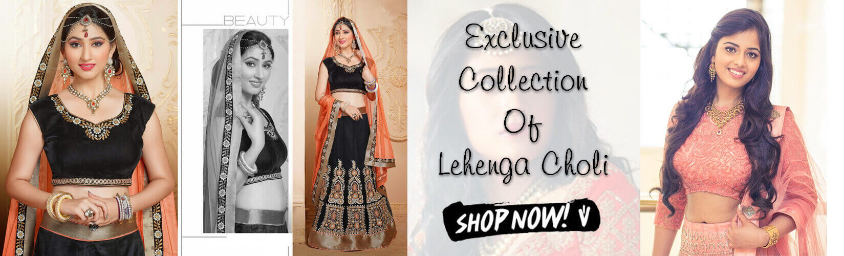 Wholesale Lehenga Choli From Surati Fabric banner