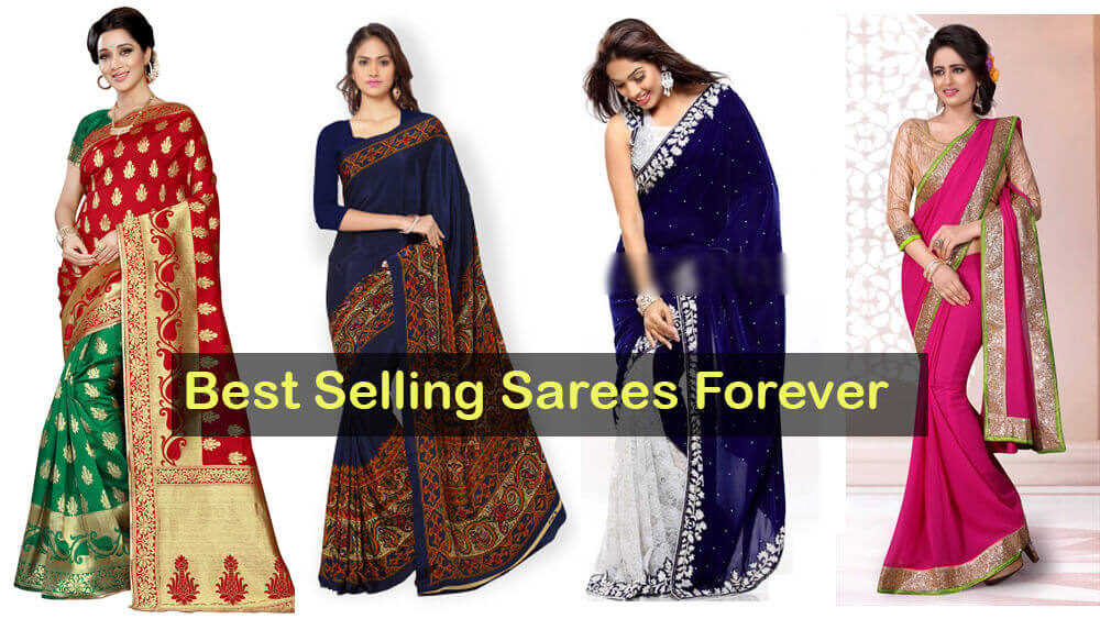 Best selling sarees forever online