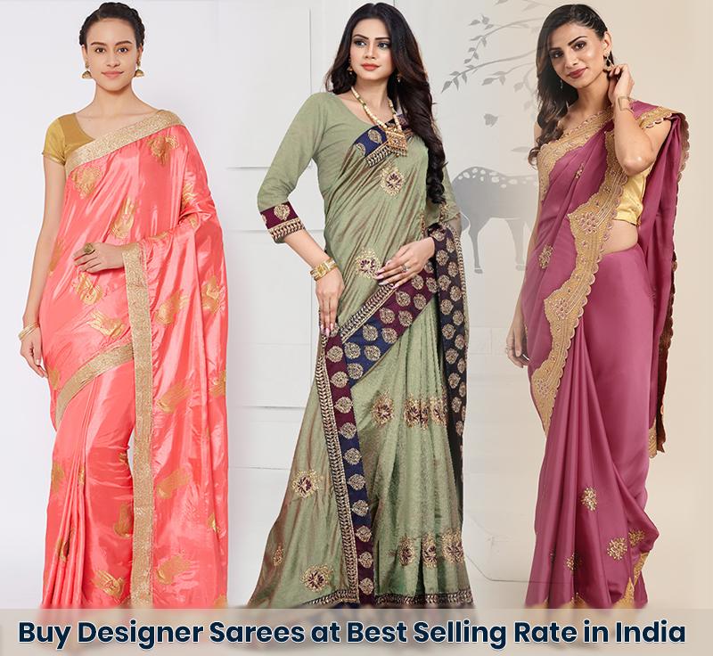 designer sarees manufacturers in surat