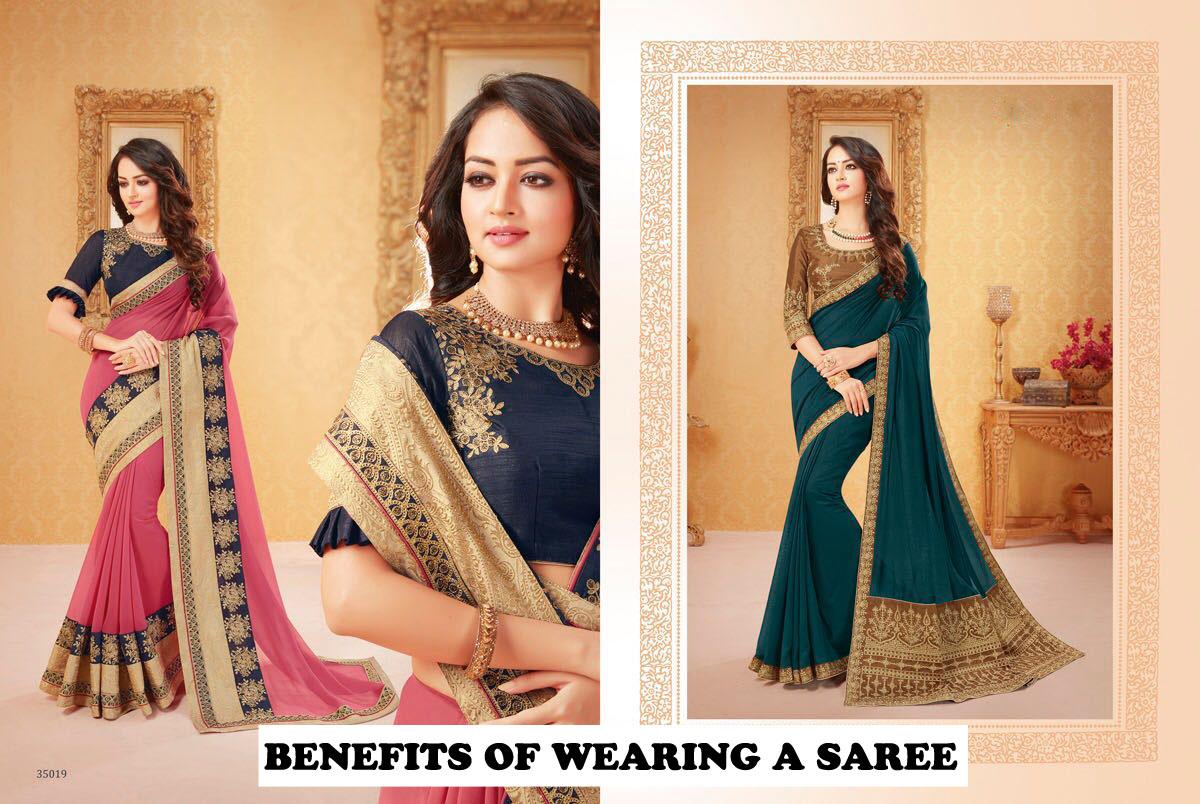 benefits of wearing a saree