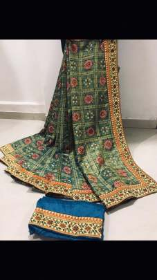 Bandhej Beautiful Saree