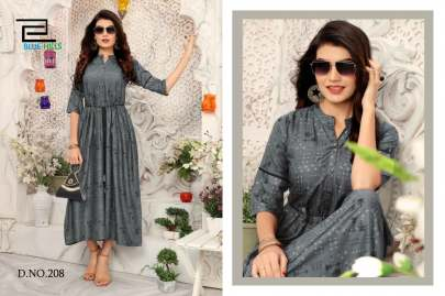 Blue Hills Walkway Vol 2 Kurti Wholesale Catalog 10 Pcs