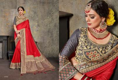 Designer Art Silk Saree Catalogue