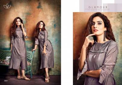 Evermore Silver Pearls Vol 3 Kurti Wholesale Catalog 6 Pcs
