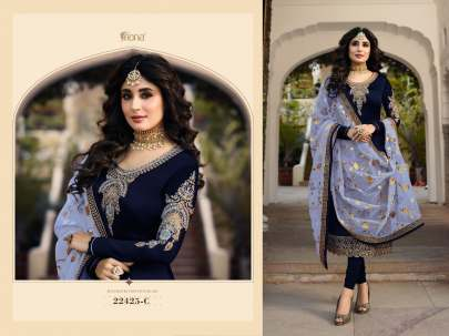 Fiona:-22425 Navy Blue