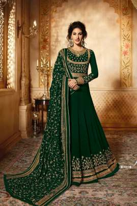 GLOSSY SIMAR 9083 Anarkali Style Hit Design Premium Quality  Suit-A