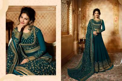 GLOSSY SIMAR 9083 Anarkali Style Hit Design Premium Quality  Suit-A2