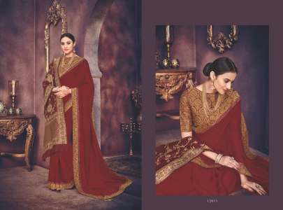 Indian Women's ALANKAR Catalog With Extra Shawl