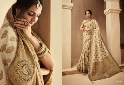 Indian Women's Designer Banarasi Silk Saree Catalogs
