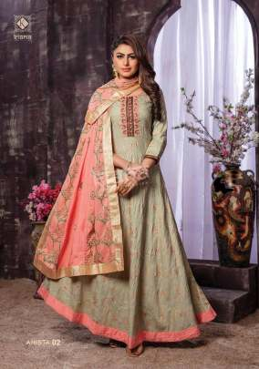 Kiana house of fashion Presents AHISTA Heavy Reyon Designer Kurti Catalogue