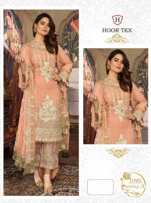 Nafiza Gold vol-4 Light Orange