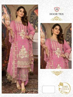 Nafiza Gold vol-4 Pink