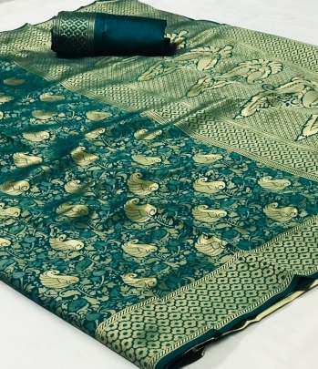 PRESENTING NEW DESIGNER LICHI COTTON SILK SAREE