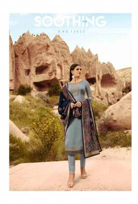 Party Wear Glossy Manya Salwar Suits