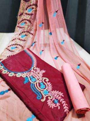 VX SALWAR SUIT 1 Red