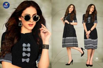 Vitara Crysta Kurti Wholesale Catalog 6 Pcs