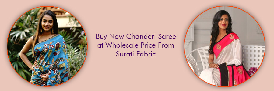 Buy Wholesale Chanderi Sarees Surat