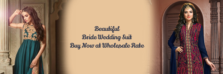 Buy Wholesale Wedding Dress Surat