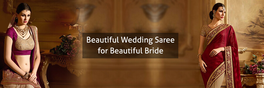 Buy Wholesale Wedding Saree Surat